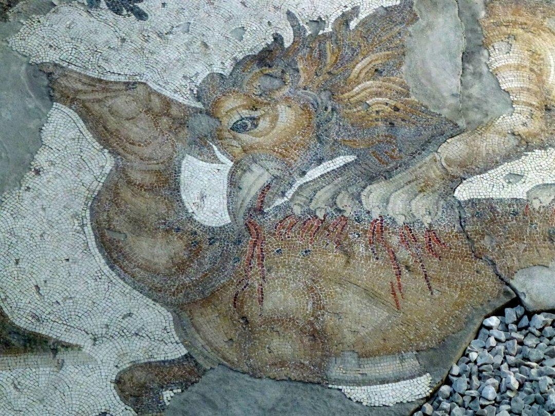 Turquie - jour 24 - Derniers instants à Istanbul - 57 - Musée des mosaïques du Grand Palais de Constantin - Büyük Saray Mozaikleri Müzesi