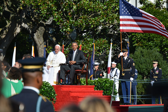 Pope Francis & President Obama