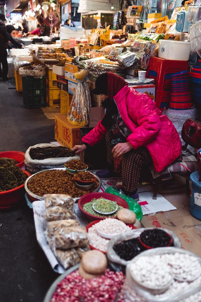 Seoul travel blog Gwangjang Market