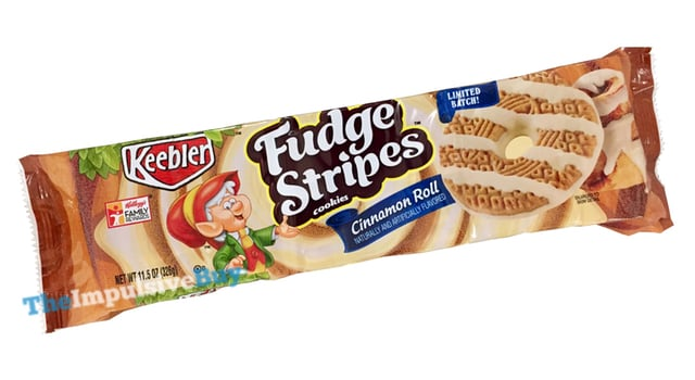 Keebler Limited Batch Cinnamon Roll Fudge Stripes Cookies