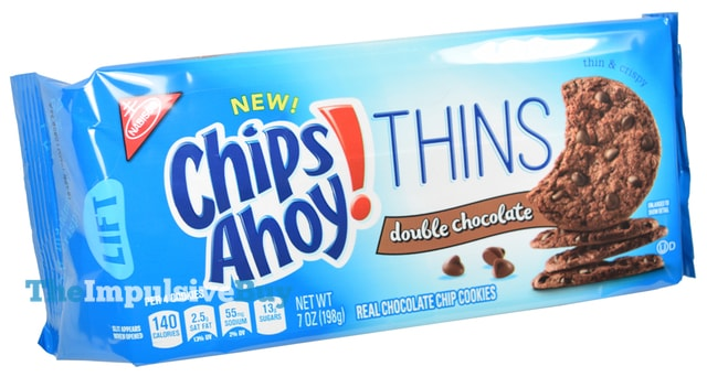 Nabisco Double Chocolate Chips Ahoy Thins