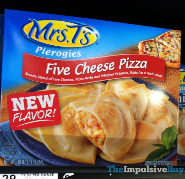 Mrs. T's Five Cheese Pizza Pierogies