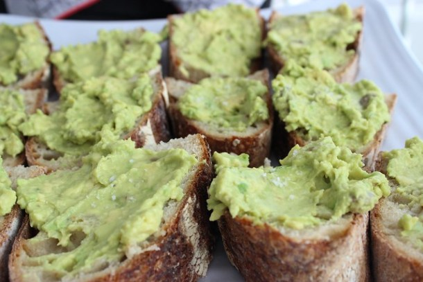 Hipster Avocado Birthday Toast