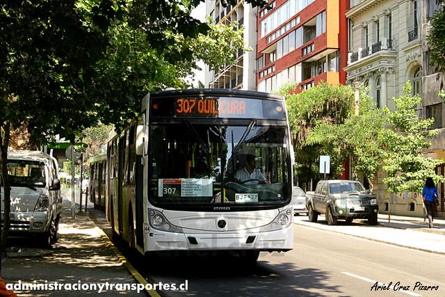 Transantiago - Buses Vule - Caio Mondego H / Mercedes Benz (BJFS27) (44)