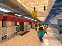 Ocean Park Mtr Station Minecraft Project