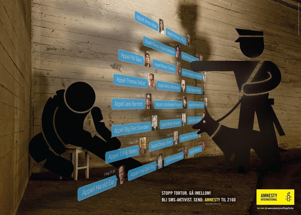 Amnesty International - Stop torture 1