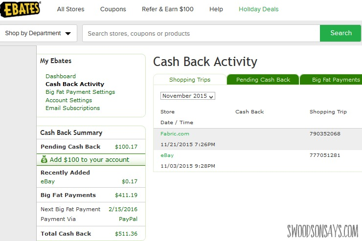 Ebates how-to