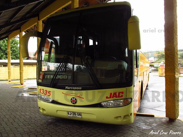 Jac - Pucón - Marcopolo Paradiso 1200 / Mercedes Benz (VJ2606)