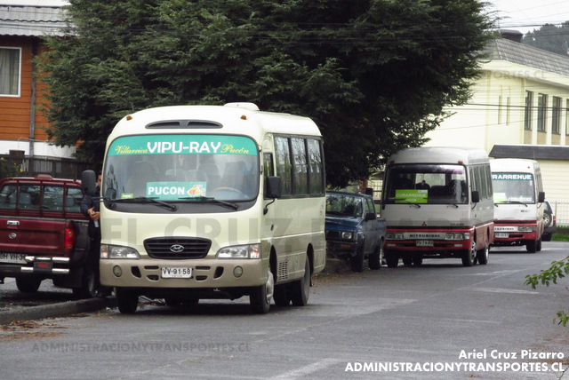 Buses Vipu Ray - Pucón - Hyundai County (VV9158)