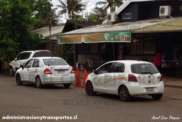 Taxi Isla de Pascua | Nissan Tiida & Toyota Yaris Sport