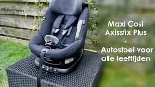 maxi-cosi samenwerking axissfix plus autostoel jaaroverzicht