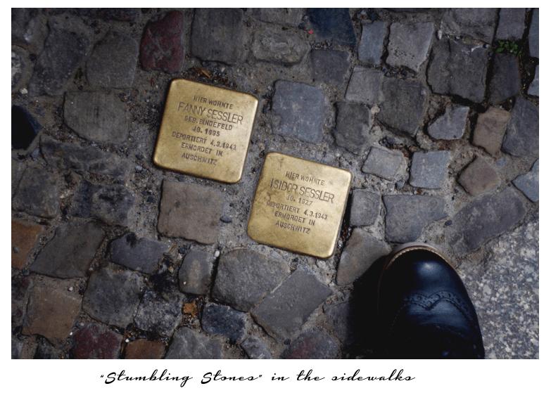 stumbling stones berlin