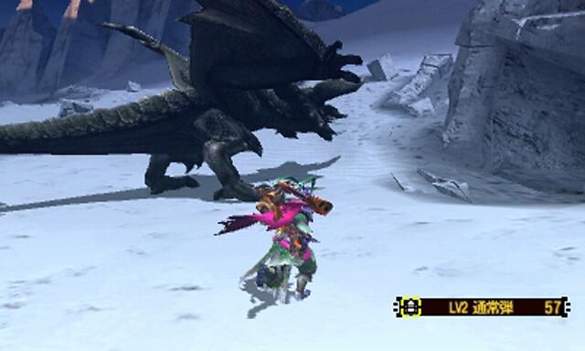 蛇帝龍への挑戦   ひなたのモンハンノート