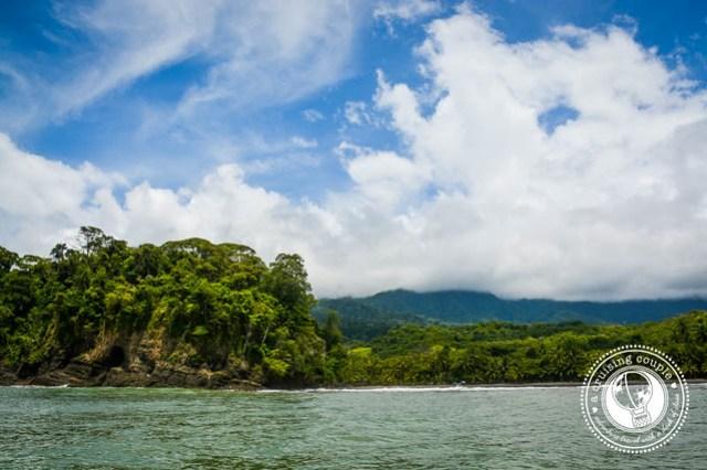 The View When Scuba Diving In Costa Rica