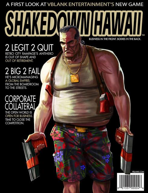 Shakedown Hawaii on PS4 & PS Vita