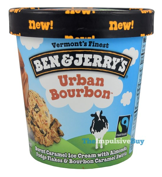 Ben & Jerry's Urban Bourbon Ice Cream