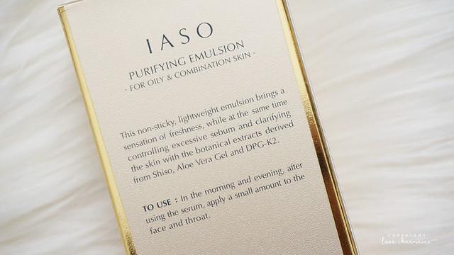IASO Cosmetics | Skincare Review | LoveCharmaine.com