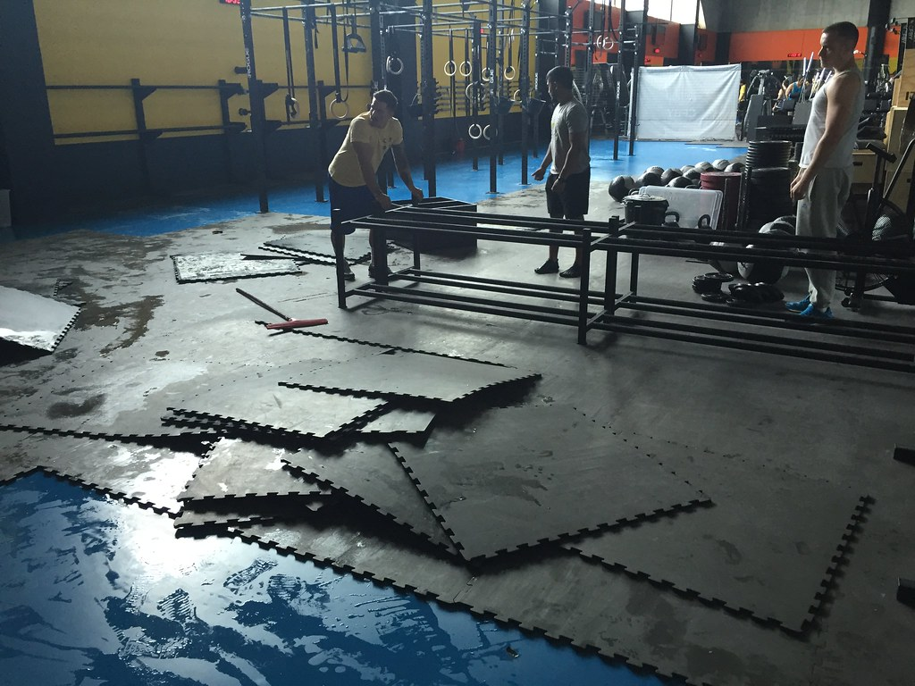 Qgym Affected By Heavy Rain