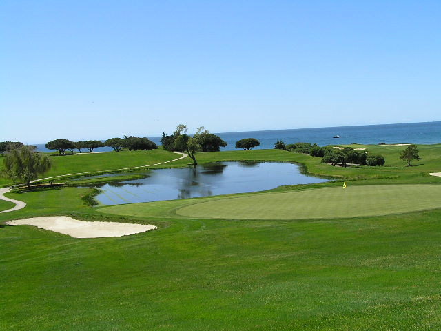 Sandpiper Golf Club Santa Barbara California  View from