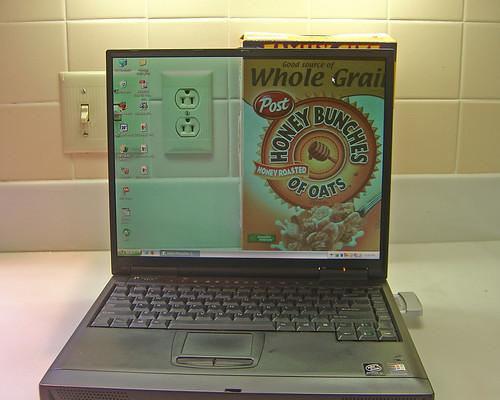 Transparent Laptop Screen