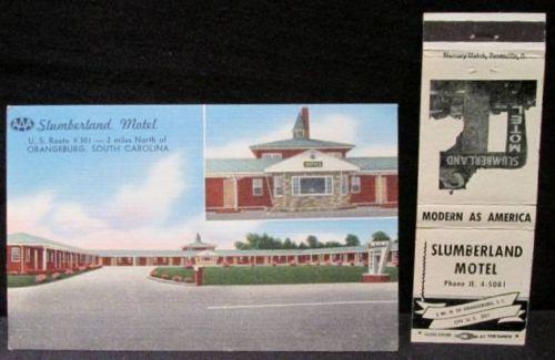 Slumberland Motel Orangeburg front 4