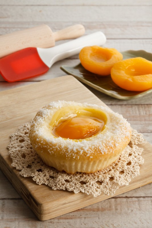 Peach Brioche