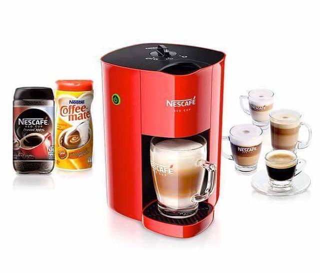 Nescafe Red Mug launch