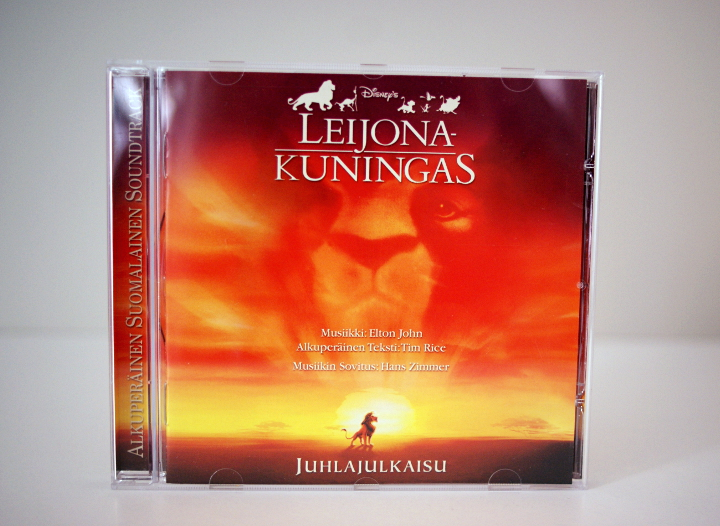 Leijonakuningas suomalainen soundtrack