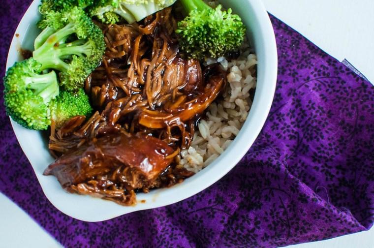 Honey Teriyaki Chicken Rice Bowls 4