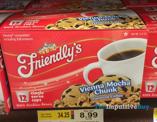 Friendly's Vienna Mocha Chunk K-Cup