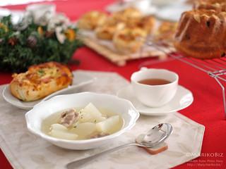 鶏と大根スープ 20151205-DSCF8429