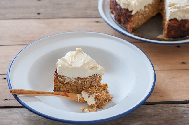 Paleo Carrot Cake w Maple Cream Cheese Frosting-4