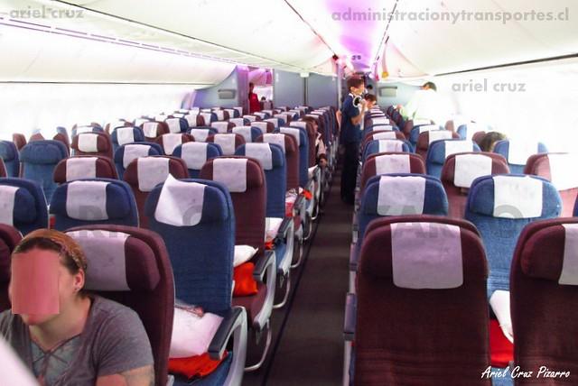 Economy de LAN - Boeing 787-8 Dreamliner de LAN