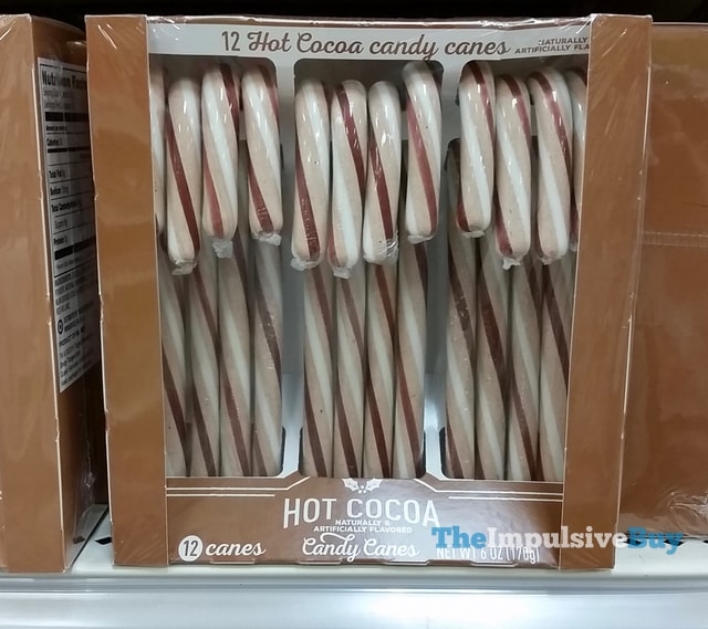 Hot Cocoa Candy Canes