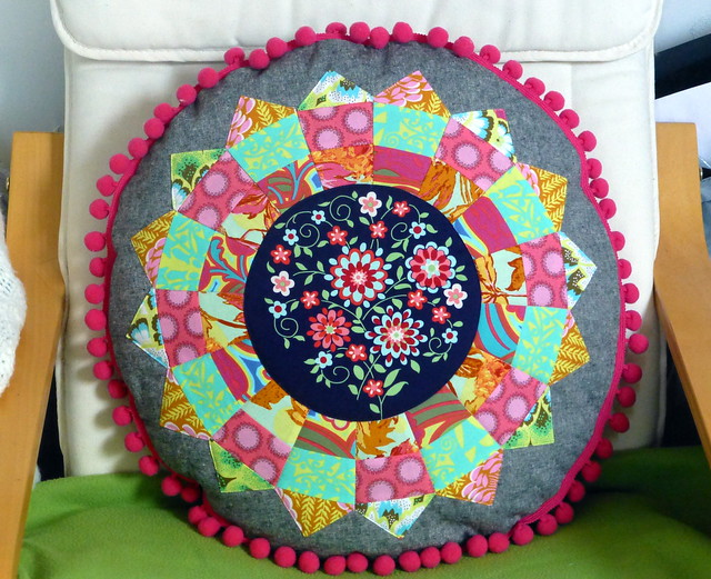 Boho Dresden Cushion