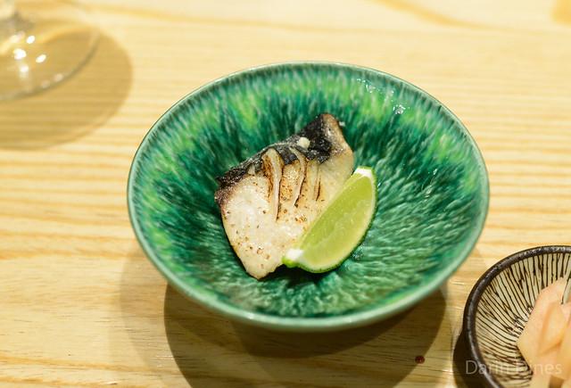 Grilled Spanish Mackerel (sawara)