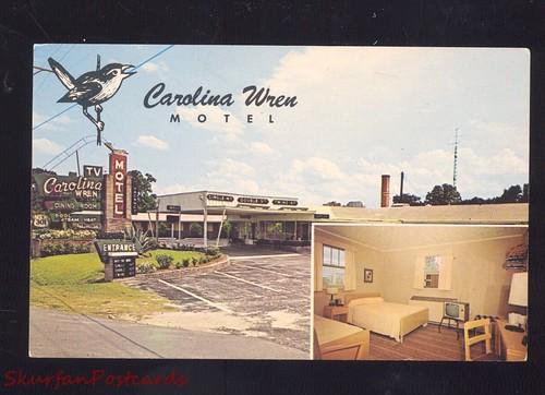 Carolina Wren Motel Orangeburg front