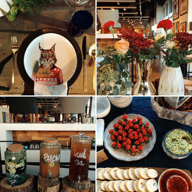 atx west elm blogger dinner
