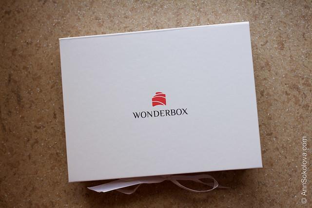01 Wonderbox октябрь 2015 обзор бьюти блогера Анны Соколовой