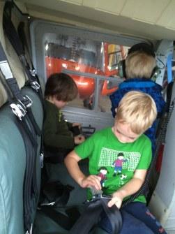 Elijah, Noah & Kyle as passengers