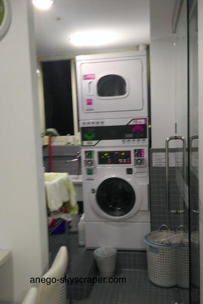 3Sの洗濯乾燥機