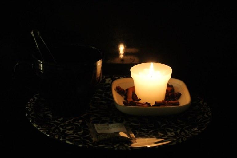 Tea and light
