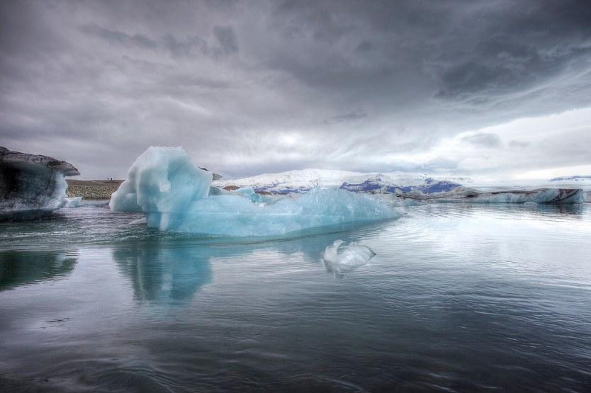 Jökulsárlón Glacier Lagoon, Iceland.