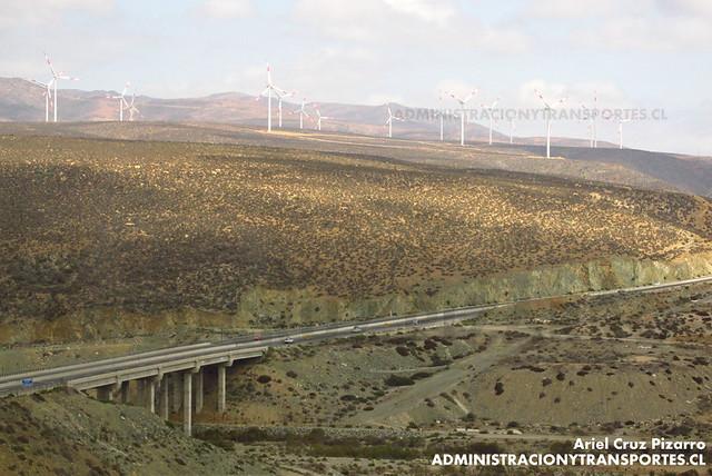 Puente El Teniente & Parque Eólico Monte Redondo
