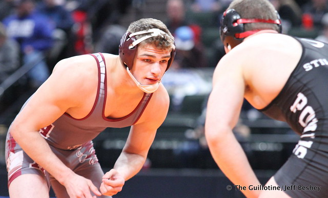 182AAA - 3rd Place Match - Dalton Miller (Anoka) 35-8 won by decision over James Huntley (Stillwater) 38-3 (Dec 11-10)