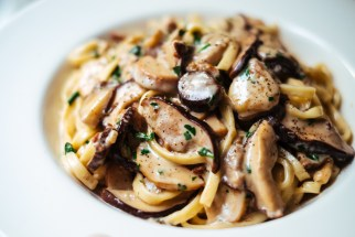 Pasta ai funghi (porcini and bay bolete)