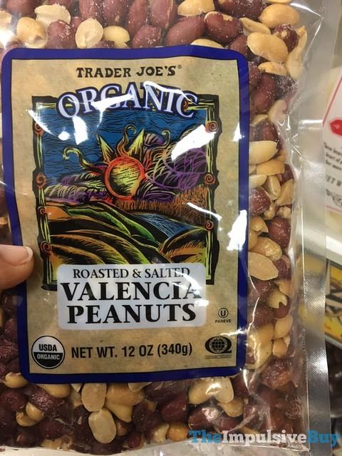 Trader Joe's Organic Roasted & Salted Valencia Peanuts