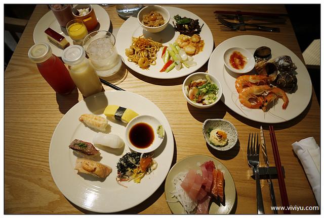 Buffet,凱菲屋Café,台北,君悅HYATT酒店,富邦信用卡,富邦食神幫,美食 @VIVIYU小世界