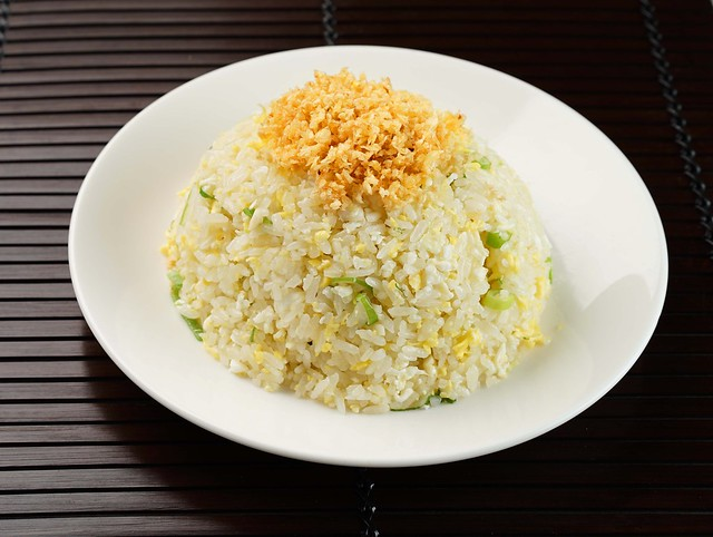 Fried Rice with Sweet Garlic and Scallions