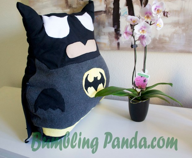 Batman Pillow Tutorial